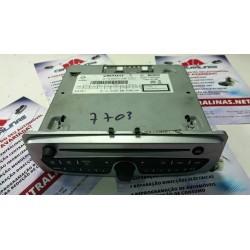 Auto Radio Renault Megane MK3 Grand Scenic MK3 Radio CD Player + code 281155040R